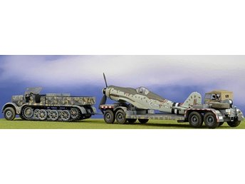 Solido  War Master - FAMO with heavy trailer and FW190D - 1/72 scale - last one!
