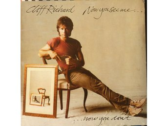 LP - Vinyl - Cliff Richard - Now You See Me, Now You Don't  - 1982