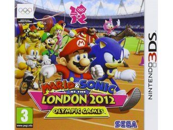 "3DS spel ""Mario & Sonic: London 2012 Olympic Games"""