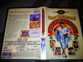 Rodney Dangerfield BACK TO SCHOOL - - RARE OOP--