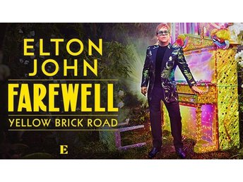 Elton John - Farewell Yellow Brick Road 2 Biljetter parkett C