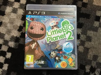 PS3 SPEL - Little Big Planet 2 / LittleBig Planet 2 - PS3 - Angered - PS3 SPEL - Little Big Planet 2 / LittleBig Planet 2 - PS3 - Angered