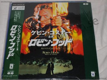 ROBIN HOOD - PRINCE OF THIEVES JAPAN LD