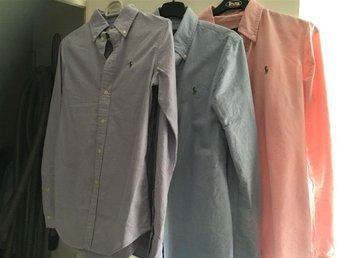 Tre stycken ralph lauren skjortor - Trelleborg - Tre stycken ralph lauren skjortor - Trelleborg