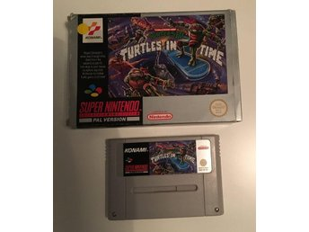 TMNT IV - Turtles in Time PAL SCN