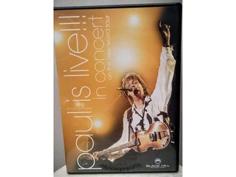 Paul McCartney - Paul is Live - In concert on The New World Tour - Skänninge - Paul McCartney - Paul is Live - In concert on The New World Tour - Skänninge