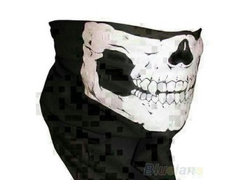 BANDANA HALVMASK STRETCH MC,PAINTBALL MASKERAD MM,MM