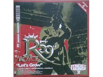 "Cocoa Brovaz / Royce Da 5'9""  titel*  Get Up / Let's Grow*12"