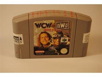 N64 - NINTENDO 64 - WCW VS NWO WORLD TOUR - SVENSKSÅLT - FRI FRAKT - örkelljunga - N64 - NINTENDO 64 - WCW VS NWO WORLD TOUR - SVENSKSÅLT - FRI FRAKT - örkelljunga