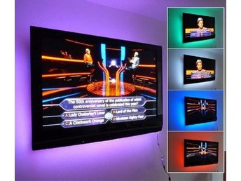 1M - LED-list LED-belysning TV-belysning RGB