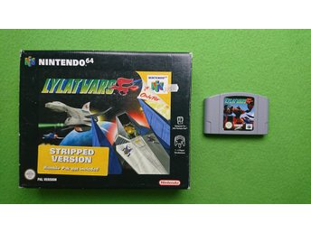 Lylat Wars BIG BOX  N64 Nintendo 64 N64 Nintendo 64 lylatwars