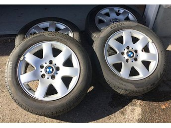 BMW 3-seriet 4 st orig sommar hjul med Pirelli däck 6-7 mm - Lidingö - BMW 3-seriet 4 st orig sommar hjul med Pirelli däck 6-7 mm - Lidingö