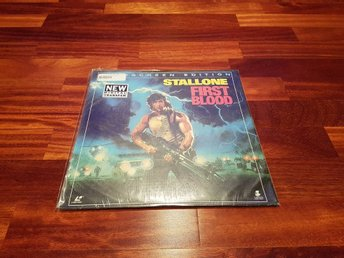 First blood - (Rambo) Widescreen edition, inplastad
