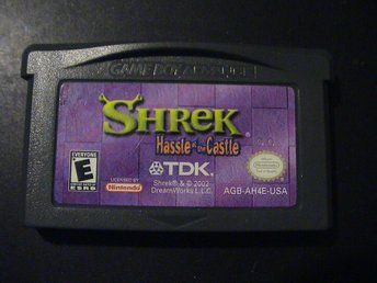 SHREK HASSLE AT THE CASTLE / NINTENDO GAMEBOY ADVANCE