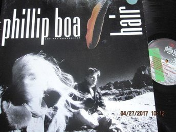 Phillip Boa and The Voodooclub LP Hair