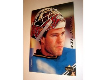 J CAREY UPPER DECK 95-96  ELECTRIC ICE   344 NYTT