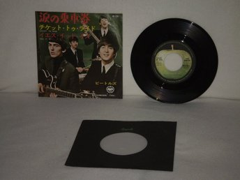 The Beatles  -  Ticket To Ride         JAPAN PRESS- !!