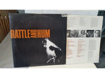 U2 - Rattle and hum 2LP