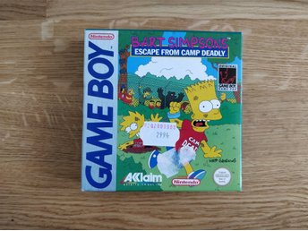 Nintendo Gameboy Bart Simpsons eascape from camp deadly game boy nostalgi retro