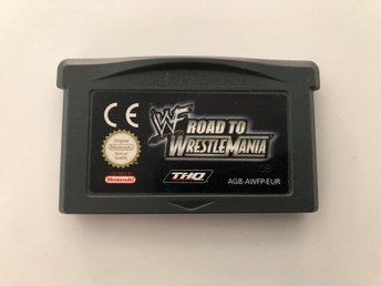 WWF Road to Wrestlemania till Nintendo GameBoy Advance