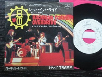BACHMAN TURNER OVERDRIVE - Let it ride  Mercury Japan -75 PROMO