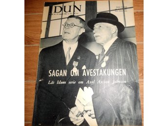 Idun nr34 1958 Axel Ax:son Johnson, Den heliga Birgitta, mode