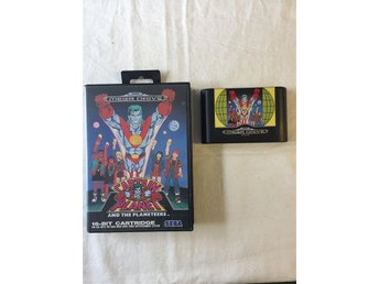 Tevespel - Megadrive - Captain Planet and the planeteers