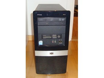 Dator med Windows XP och Core2Duo processor  (Dual Core)