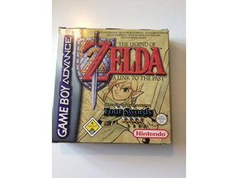 LEGEND OF ZELDA - A LINK TO THE PAST/FOUR SWORDS - SVENSKSÅLT
