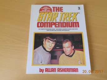 STAR TREK COMPENDIUM by Allan Asherman stor bok UK 1993