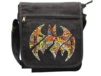 Messenger Bag - DC Comics - Batman Logos Small Size