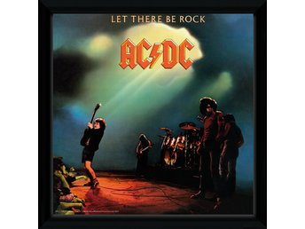 Tavla - Musikalbum - AC/DC Let There Be Rock