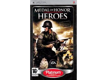 Medal of Honor Heroes - Platinum - Playstation PSP