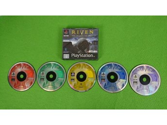 Riven The Sequel to Myst Playstation PSone ps1
