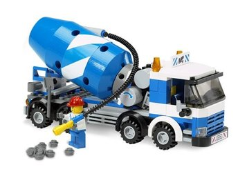 Cement Mixer  - LEGO set 7990-1