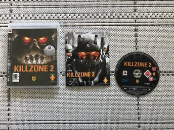 Killzone 2 till Playstation 3, PS3, komplett