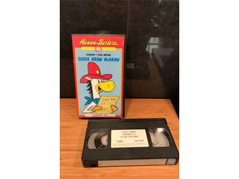 Quick Draw McGraw | | Tecknat VHS | Hanna-Barbera 1989
