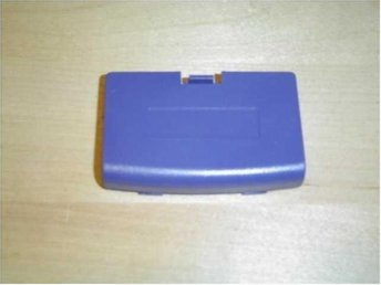 BATTERILUCKA LILA NINTENDO GAMEBOY ADVANCE GBA *NYTT*