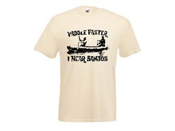 Paddle Faster / I Hear Banjos - XL (T-shirt)