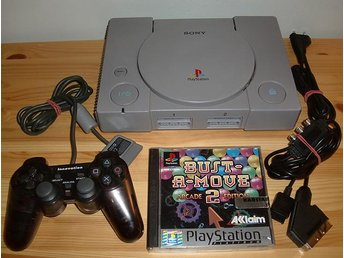 Playstation 1 + 1 spel