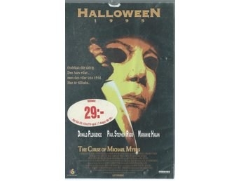 HALLOWEEN 1995 - THE CURSE OF MICHAEL MYERS   (VHS FILM !!)
