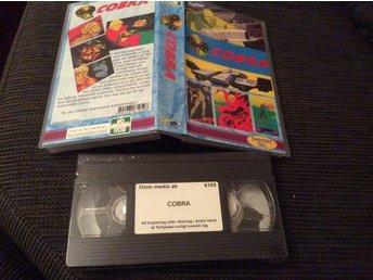 COBRA ny inplastad film VHS - Filipstad - COBRA ny inplastad film VHS - Filipstad