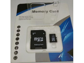 32GB minneskort micro SDHC, Class 10, TF Flash Memory Card, inkl Adapter