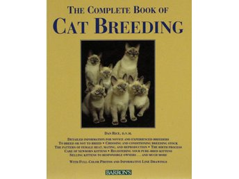 The complete book of cat breeding, Dan Rice (Eng)