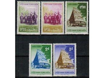 Vietnam (Syd) Ngo Dinh-Diem/Elefanter 5v.kpl/** 1957 Mi 13 € - Nybro - Vietnam (Syd) Ngo Dinh-Diem/Elefanter 5v.kpl/** 1957 Mi 13 € - Nybro