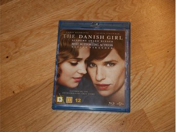 The Danish Girl / med Alicia Vikander / Blu-Ray