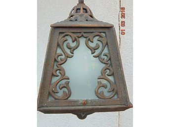 OLD WONDERFUL LAMP CAST IRON ELECTRICAL 1900-1940
