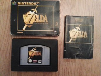 Zelda Ocarina Of Time - N64 - CIB