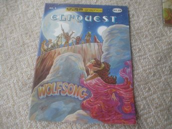 "Elfquest #4, ""Original Quest"", WaRP Graphics"