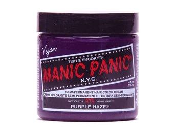 Manic Panic Purple Haze Tuff Hårfärg Snabb Leverans - Träslövsläge - Manic Panic Purple Haze Tuff Hårfärg Snabb Leverans - Träslövsläge